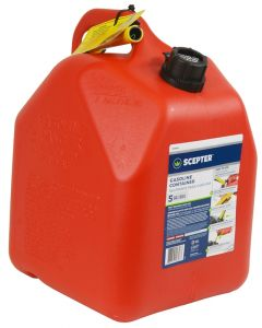 Gas Can with Spout - Plastic - 5 Gallon/18.9L