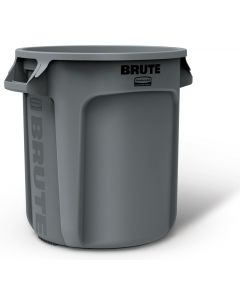 Brute - 10Gal Garbage Can/Container #261000 (Lid Sold Seperately)