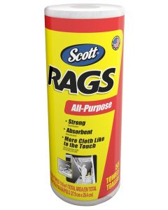 Scott - Rags - 1ply Paper Towels - Roll - 55ct