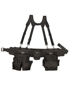 Dead-On - Tool Belt w/Padded Suspenders - Poly Fabric - 30 Pocket - #DO-FR