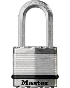 ML - Padlock - Magnum Stainless Steel - 4-Pin Cylinder - 5/16 Shackle - 1ct