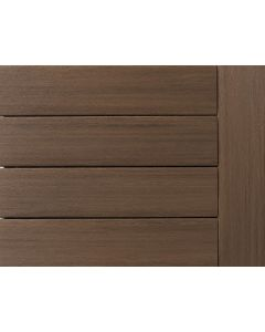 """Azek - Vintage Collection - English Walnut - Decking - Grooved - 1""""x5-1/2""""-16'"""
