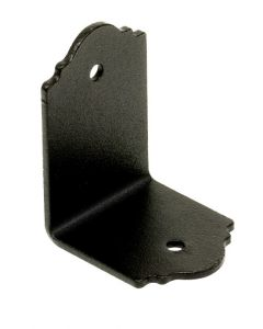 Simpson Outdoor Accents - APA21 - Ornamental Angle 2x1-1/2 - Black over Z-max
