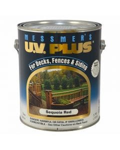 Messmer's - UV Plus Trans. Stain - Natural Sequoia Red #5MC04 - 1Gal