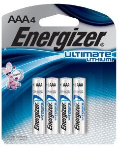 Energizer Battery - Ultimate Lithium 1.5v - AAA (4pk)