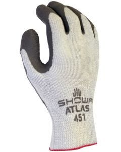 Atlas Gloves - ThermalFit Rubber Palm - Gray - #451 - Large