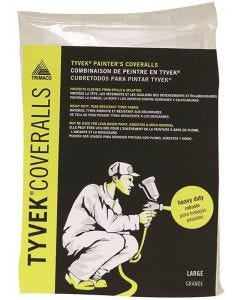 Trimaco - Tyvek Painter's Coveralls - No Elastic - #14122 - Large