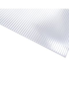 Sunlite - Twinwall Polycarbonate Panel - 8mm - Clear - 4' x 12'