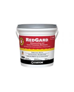 RedGard - Crack Prevention and Waterproofing Membrane - 1Gal
