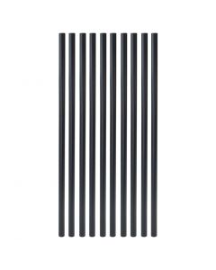 """Fortress - FE26 - Balusters - Vintage Round - Plain - .75""""x26"""" - Black Sand - 10ct"""