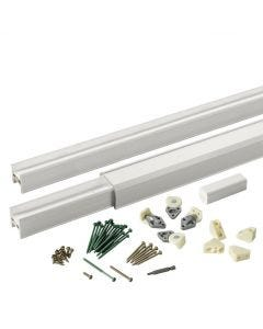 """Azek - TimberTech - Classic Composite - Universal Custom Rail Pack """"Laser Etched"""" - White -  8'"""