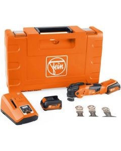 Fein - MultiMaster Oscillating Tool - Sanding/Sawing Tool Kit - 18V Cordless w/Charger - #AM500PlusTop