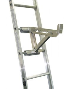 """Ladder Jack - 2 Rung Short Body - Fits up to 18"""" Plank - Round or D-Rung Ladders"""