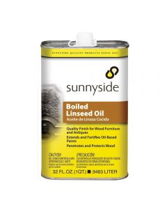Boiled Linseed Oil Qt 87232
