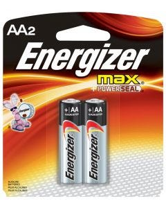 """Energizer """"AA""""  Batteries 2-pack"""