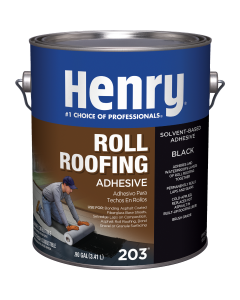 Henry's - Cold Approved Rolled Roof Cement .9Gal