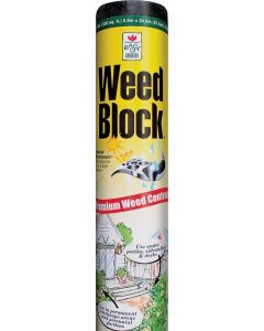 Landscape Fabric - Weed Block - Black - 18Mil - 3ft x 50ft