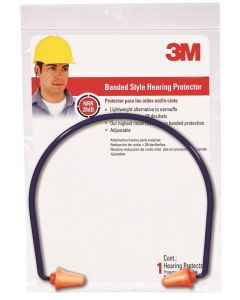 3M - Ear Protection - Banded Style Ear Plugs  (28dB)
