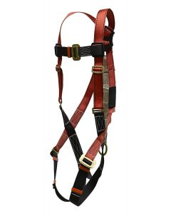 Super Anchor Safety - Harness - Full Body w/Shock Absorber - Large - #6008-RL