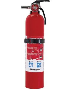 First Alert - Fire Extinguisher - Rechargeable - 2.5lb