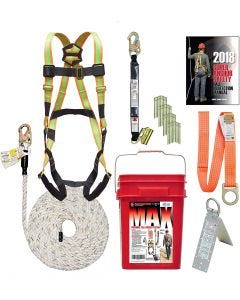 """Super Anchor Safety - Harness - """"Max"""" Fall Protection Bucket Kit - #ARS3001"""