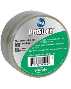 """IPG - Storage Tape - Clear - 2""""x54.6 Yards"""
