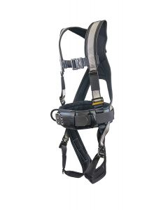 Super Anchor Safety - Harness - Deluxe Fully Body w/Tool Bag Combo - Silver - Large