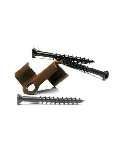 ConceaLoc - Hidden Deck Fasteners - Tiger Claw Collated Screws - Brown -  900pc - 500SF